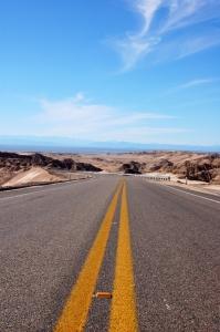 Coastal highway in the Santa Clara gulf