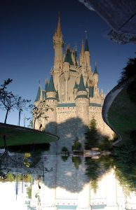 Cinderella's Castle … no trick photography needed