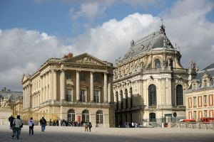 The palace of Versailles, former abode of the kings of France