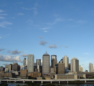 City skyline of Brisbane