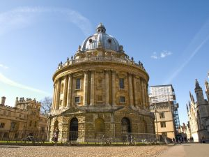 The Radcliffe Camera in Oxford, one of my favorite destinations