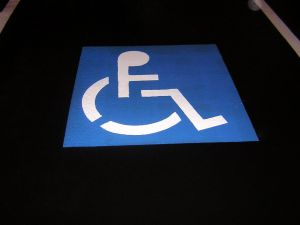 News and views for handicapped travelers, popping up in the strangest places .