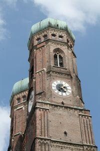 The largest church in Munich, Germany