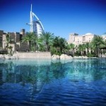 The Burj al-Arab in Dubai; world's tallest building